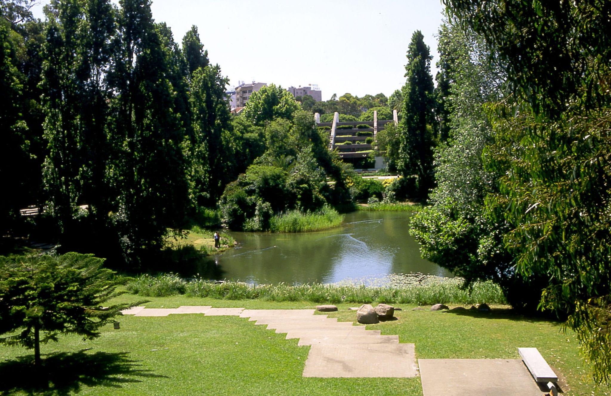 Sítios a visitar com crianças e toda a família: jardim gulbenkian