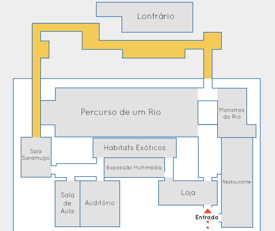 mapa fluviário