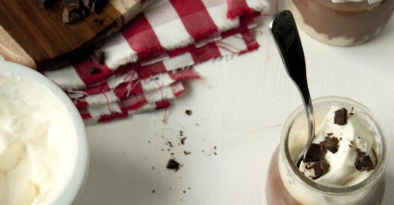 Pudim de Arroz e Cardamomo & Panna Cotta de Chocolate