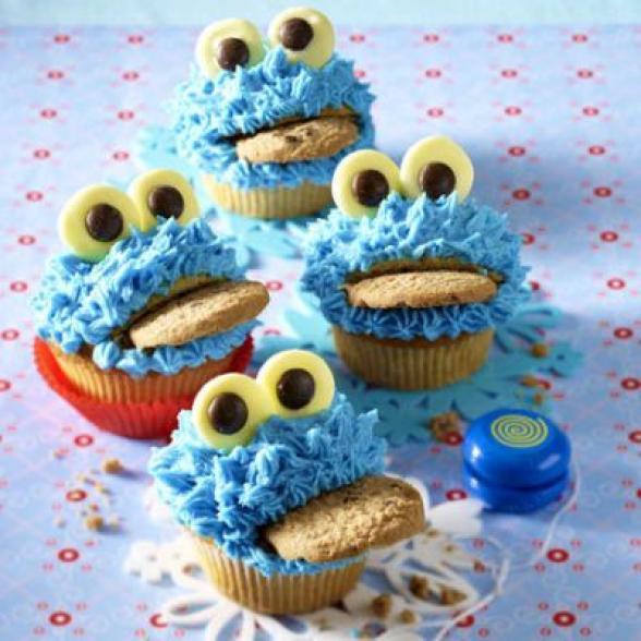 muffins monstros das bolachas