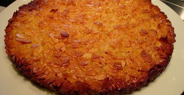 tarte de amêndoa