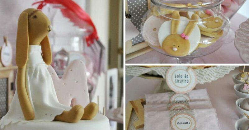 Temas e decoração de festas - fadas, bailarinas, coelhos e passarinhos