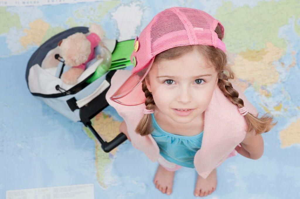 Viajar com crianças: Perguntas frequentes