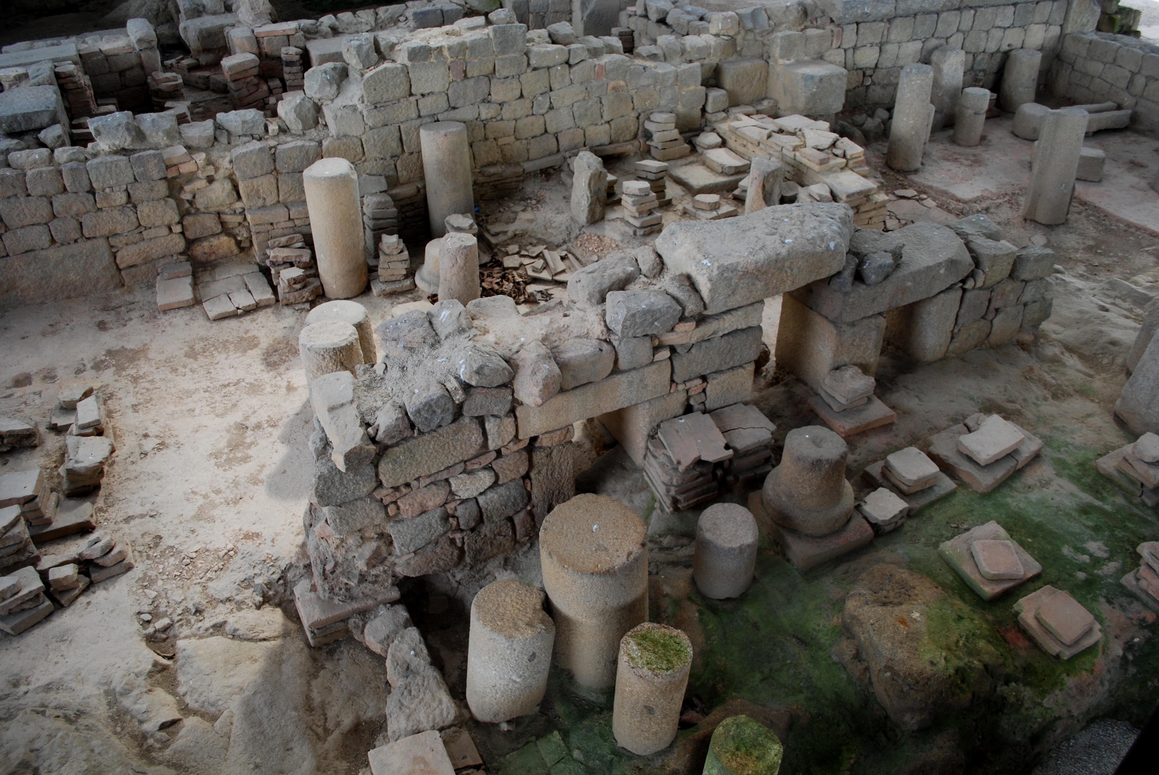 Termas Romanas do Alto da Cividade o que visitar em braga com crianças