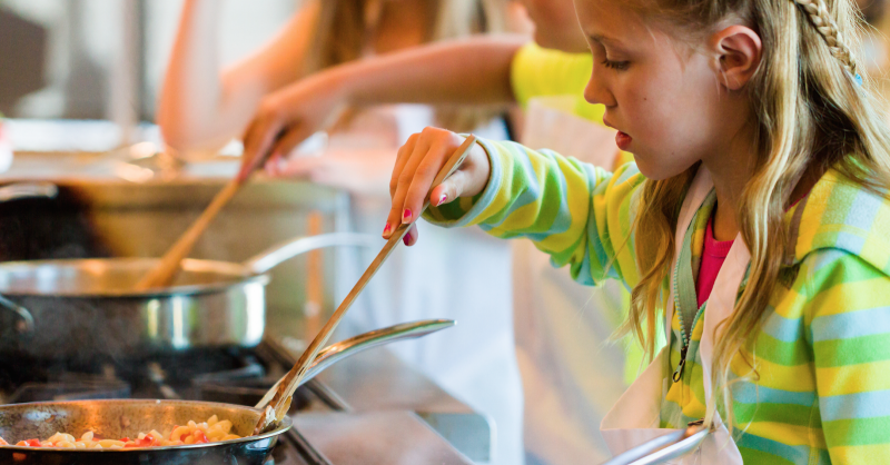 As melhores Escolas de Cozinha para Crianças