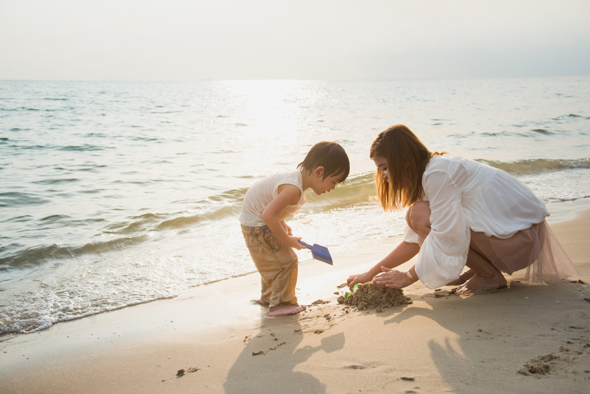 Férias com pais solteiros