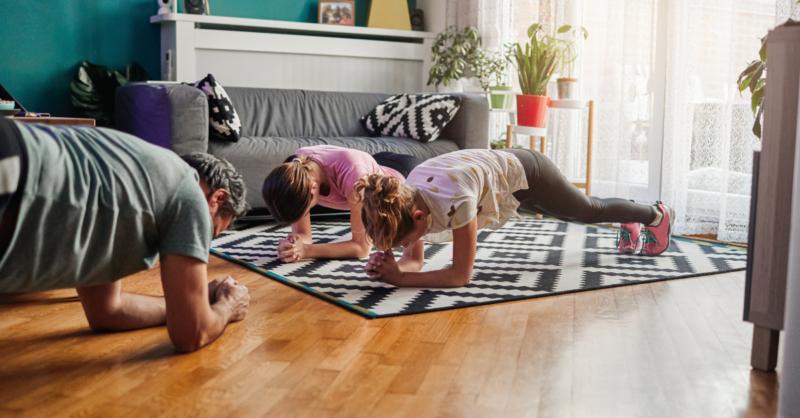 Os benefícios do exercício físico para toda a família