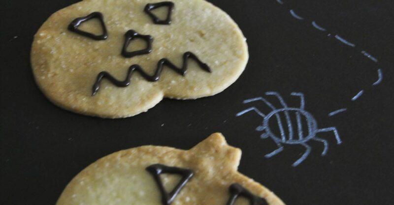 Bolacha de Halloween: uma receita de perder a cabeça!