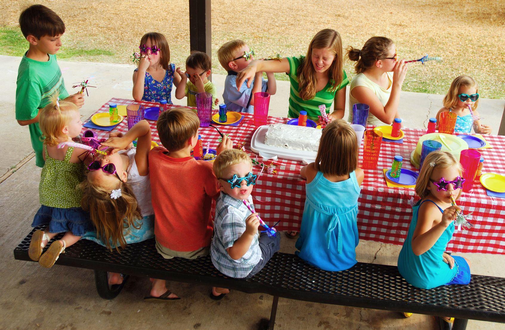 Festas de Aniversário: Atividades para fazer com os miúdos no jardim