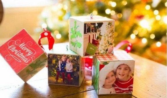 blocos com fotos familia