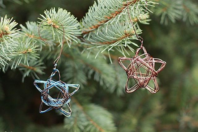 enfeites de natal estrelas