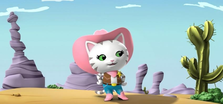 Serie Callie no Oeste no Disney Junior