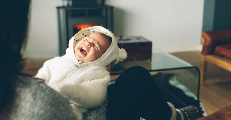 choro do bebé