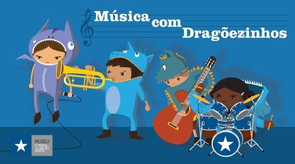 Música com Dragõezinhos FC Porto