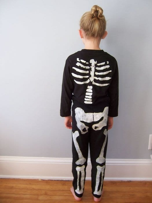 esqueletos fatos de halloween