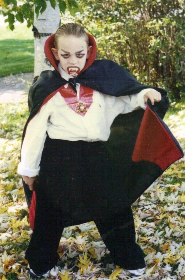 vampiro fato de halloween