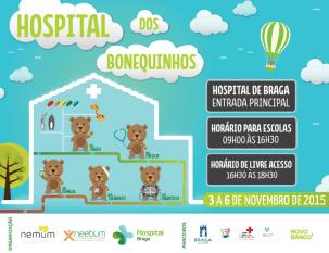Hospital dos Bonequinhos recebe 800 crianças
