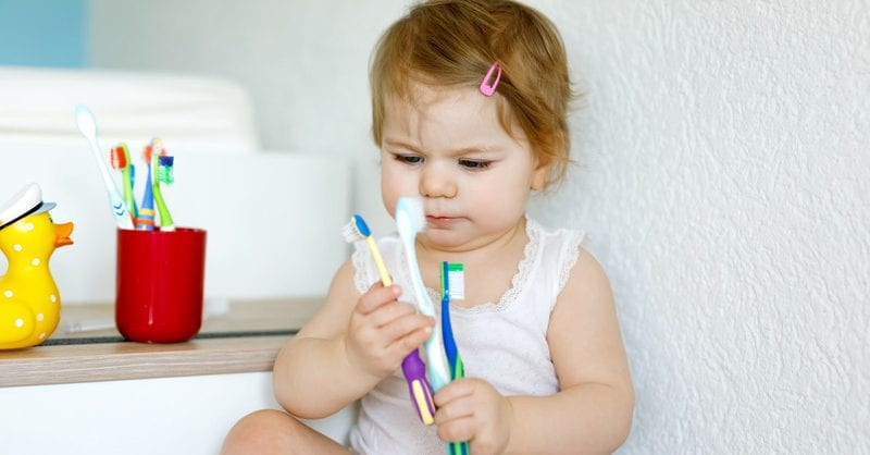 higiene oral bebé