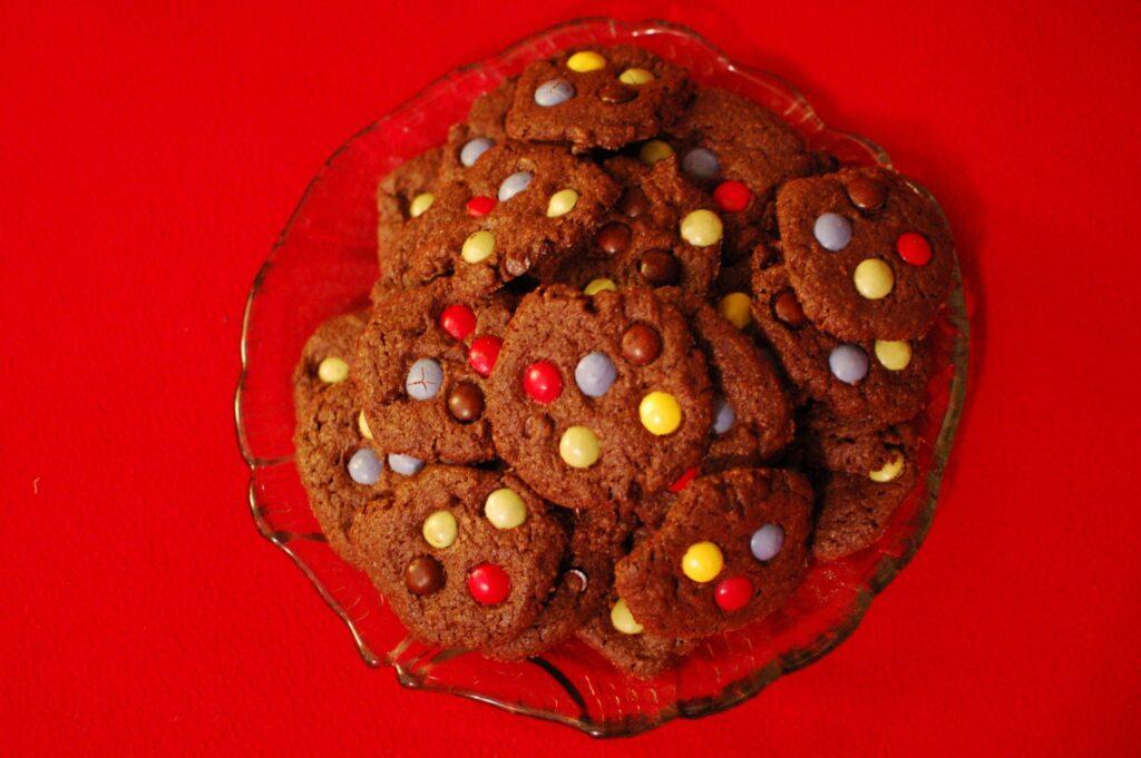 Receitas bolachas chocolate pintarolas