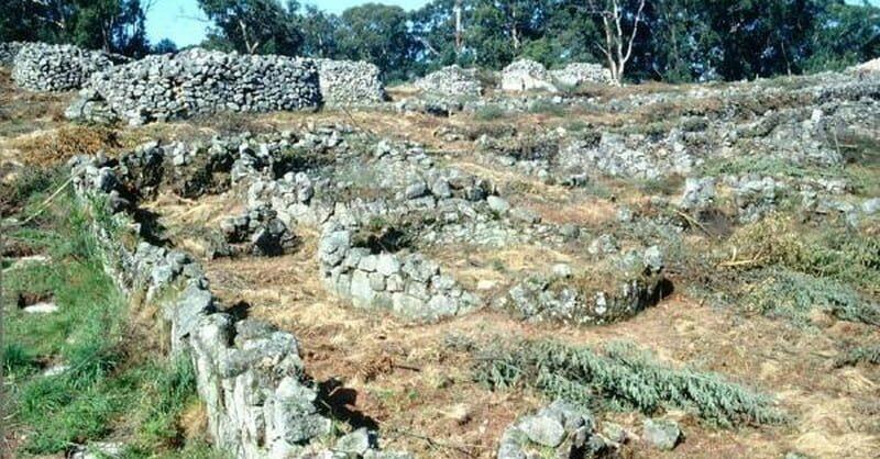 ruinas da cidade velha de santa luzia