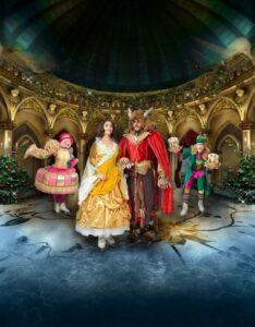 As melhores Peças de Teatro para Crianças: A Belo e o Monstro no gelo