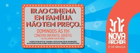 Cinema gratuito em Braga