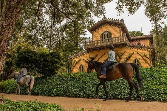 Passeio a cavalo em Sintra