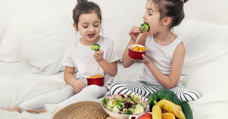 alimentação saudável crianças