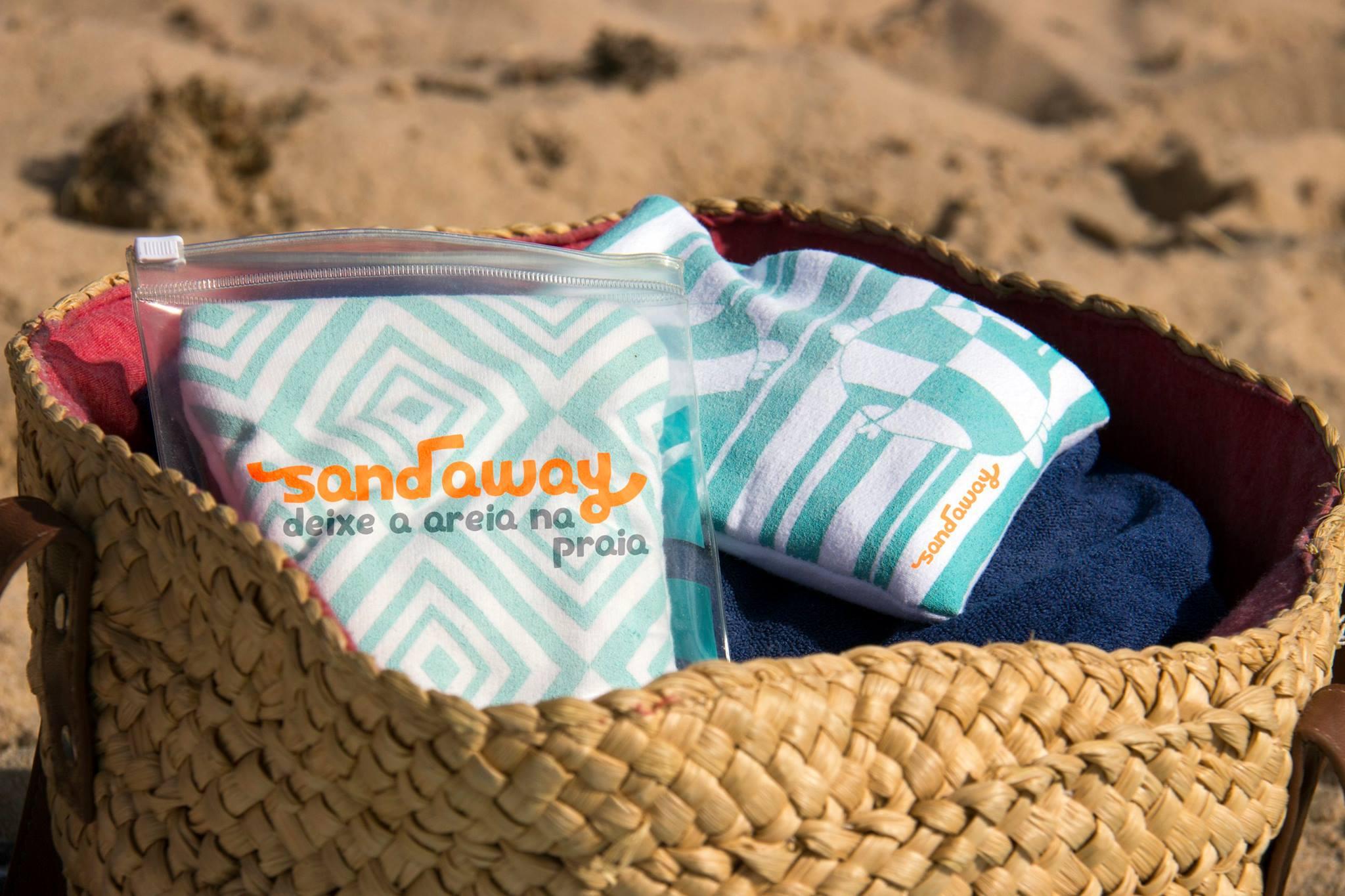 sandaway original deixe a areia na praia