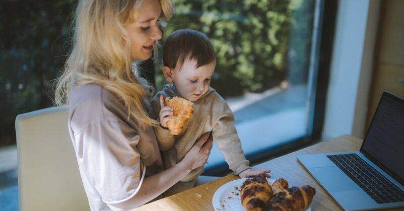 alimentação de um bebé de 11 meses
