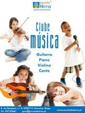 Escola da Terra pretende estimular as crianças para a música