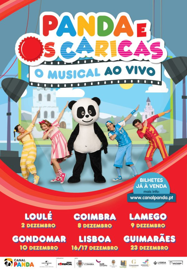 musical Panda e os Caricas