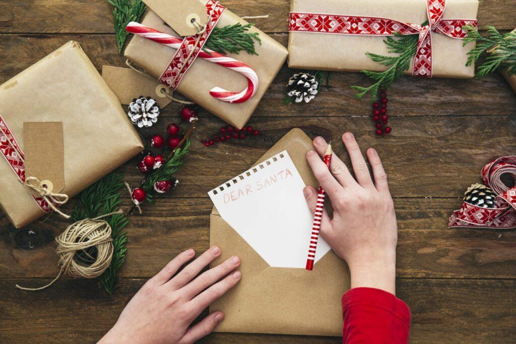 escrever uma carta ao pai natal