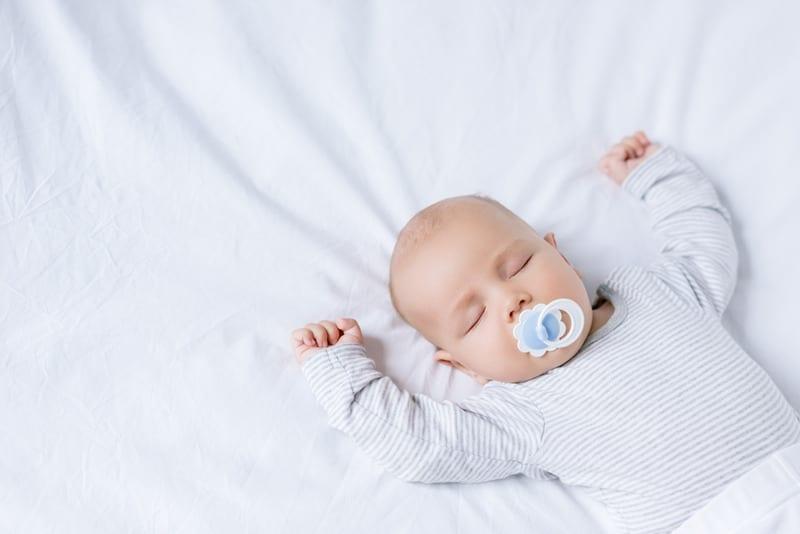 posição para o bebé dormir