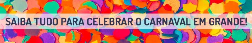 SAIBA TUDO PARA CELEBRAR O CARNAVAL EM GRANDE