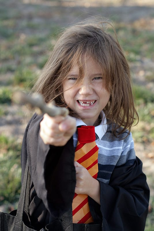 A inteligente e curiosa Hermione