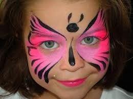 Ideias e truques para Pinturas Faciais para o Halloween: maquilhagem borboleta
