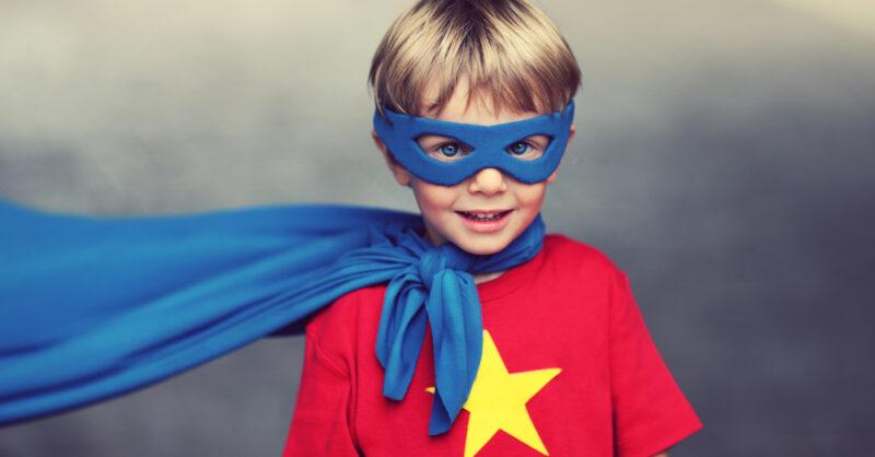 fatos de Carnaval de Super Heróis