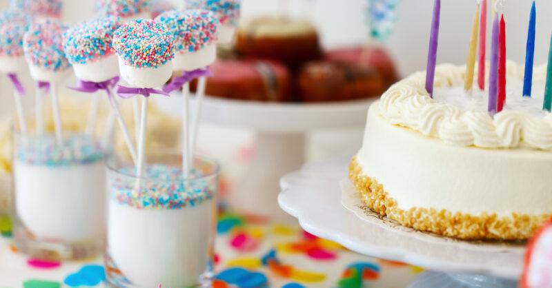 comidas para festa de aniversário