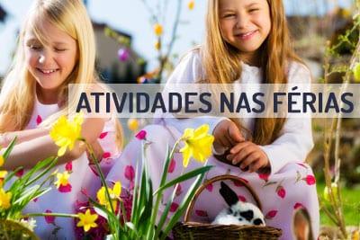 Atividades para as crianças nas férias da Páscoa