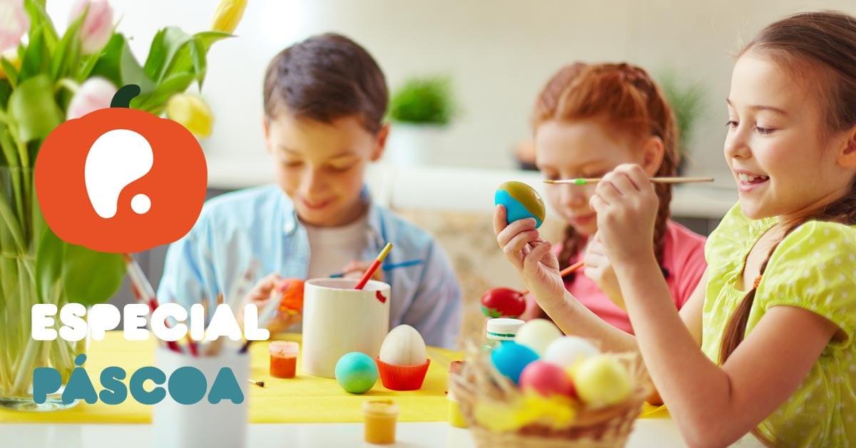 Atividades programas de férias de páscoa crianças