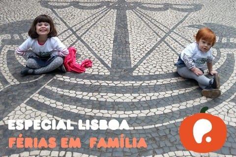 érias em família na cidade de Lisboa Portugal