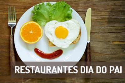 Restaurantes para celebrar o dia do Pai