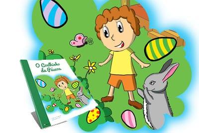 Livros Personalizados Story Tell Me O Coelhinho da Páscoa