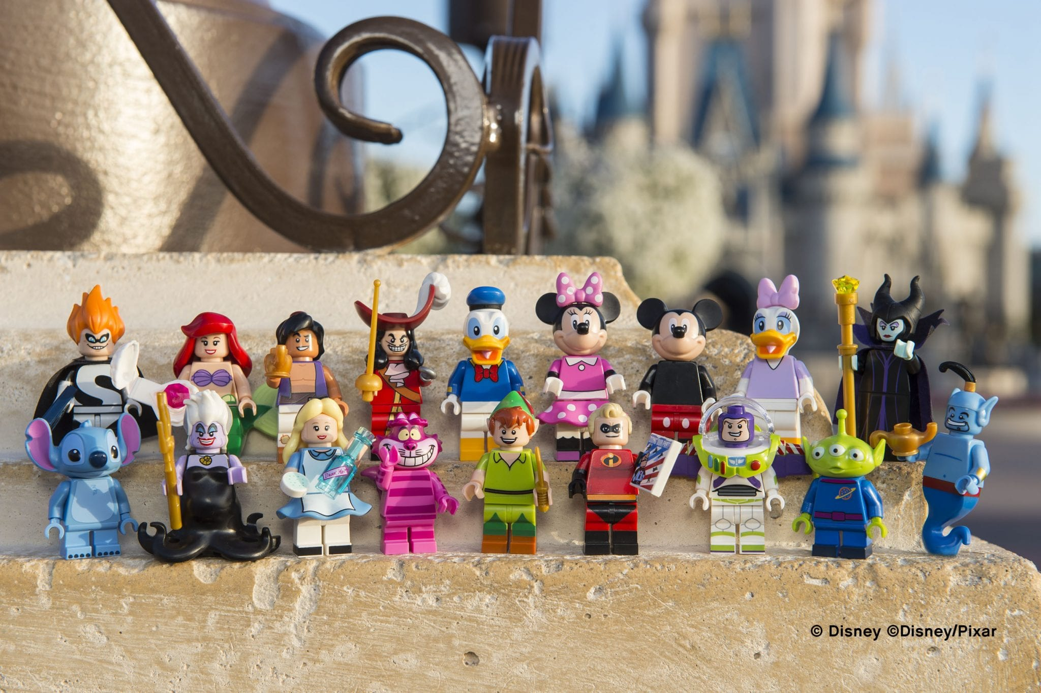 LEGO lança coleção com com as personagens da Disney