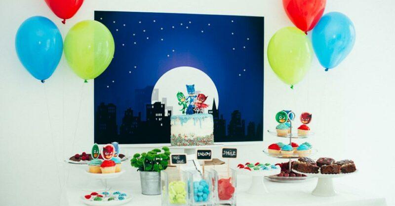 Como fazer uma festa de aniversário PJ MASKS