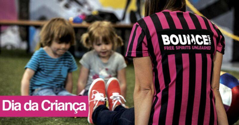 Voe na Bounce no Dia da Criança