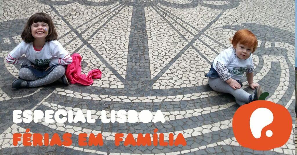 Férias em família na cidade de Lisboa Portugal
