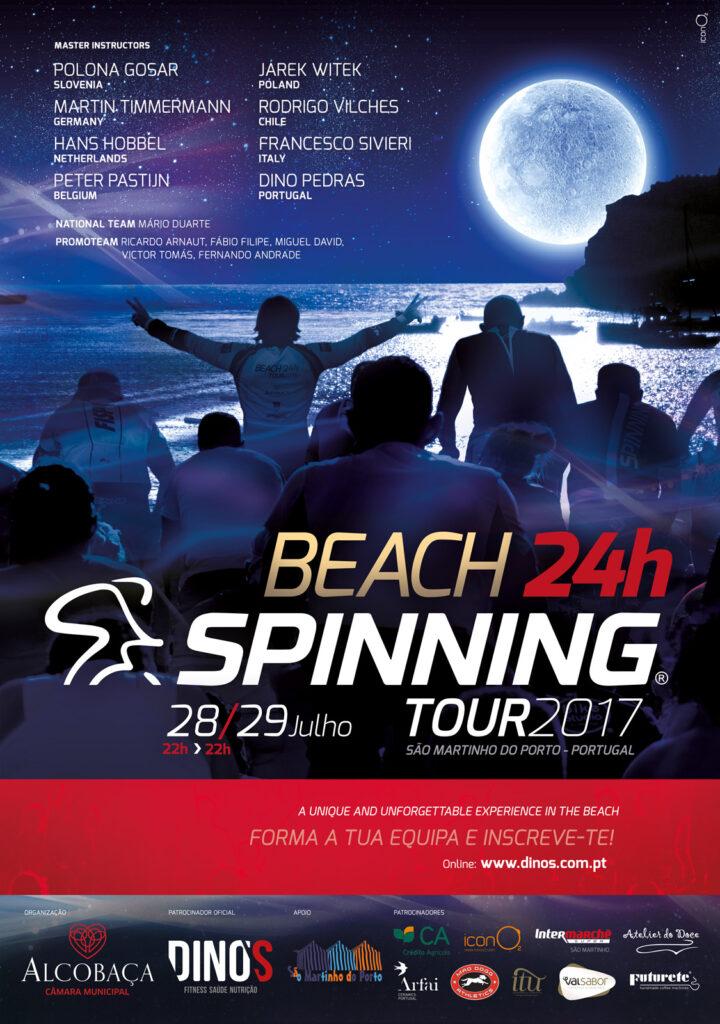 Programa família Beach 24H Spinning Tour Portugal