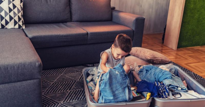 Kit de Sobrevivência para férias com crianças